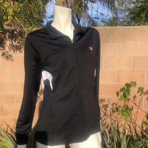 FILA Sports Track Jacket in black